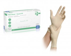 MyClean® touch PF Latexhandschuh