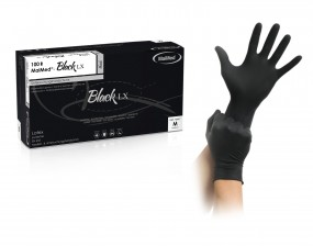 MaiMed® - Black LX Latexhandschuh (schwarz)